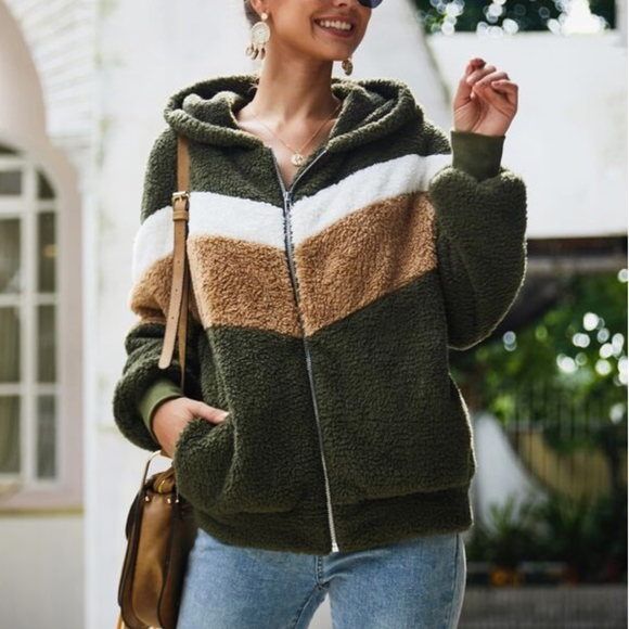 Tops - MARISSA Softest Fur Hoodie